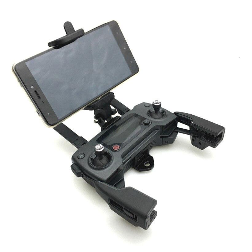 Mobile Phone Mount Bracket Holder Support For DJI Mavic Pro/DJI Spark RC Monitor drop shipping 0925