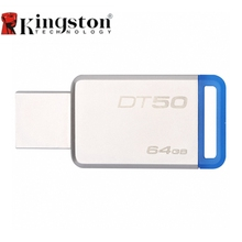 Kingston USB 3.0 Pendrive 128GB 64GB USB Flash Drive Pen 32GB 16GB Memory Mini USB Stick 8GB High Speed U Flash Disk DT50(China)