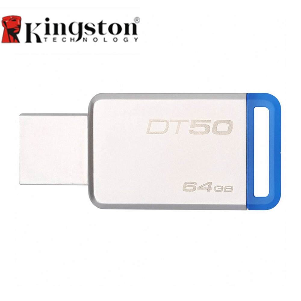 Kingston USB 3.0 Pendrive 128GB 64GB USB Flash Drive Pen 32GB 16GB Memory Mini USB Stick 8GB High Speed U Flash Disk DT50(China (Mainland))