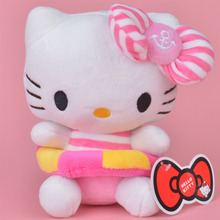 Swim Ring Hello Kitty Plush Toy, 20cm Baby Gift, Kids Doll Wholesale with Free Shipping