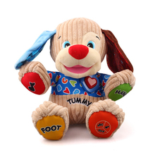 Baby Plush Dog Toys Musical Plush Electronic Toys Dog Singing English Songs Learning&Education Love To Play Puppy Doll