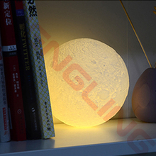 3D Printing Luna Night light LED charging Moon Lamp Touch Control Lighting Romantic private custom Adult gift Desk Kids Toys