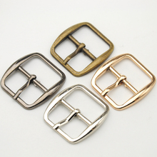 Wholesale Free shipping 20pcs/lot 20mm fashion small metal shoe buckle with pin high polished buckle shiny silver nickle BK-015(China)