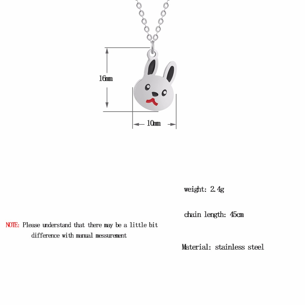 QIAMNI-Lovely-Rabbit-Animal-Bunny-Chain-Pendant-Necklace-Birthday-Pet-Lover-Gift-for-Women-K (5)