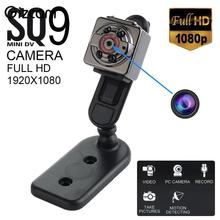 Gizcam SQ9 HD 1080P Micro Camera Motion Detection deportiva IR Night Vision Candid Espia filmadora kamepa Mini Video Camara