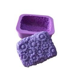 Силиконовый молд для выпечки и мыла «Цветы»