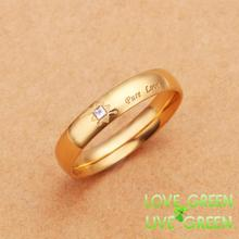 2013 fashion wedding Rings stainless steel Width 4MM fashion brand name wholesales jewelry sex female women size 6 7 8 9