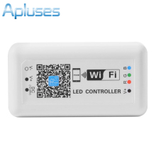 Mini LED Wireless WIFI Smart RGB Controller For RGB LED Strip Light DC 12-24V Phone App Control Dimmer Dimmable(China)
