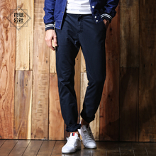 black friday 2017 casual Mens pants 100% Cotton Multi-Pockets Utility Loose Full Length Cargo Pants Work Trousers  3262