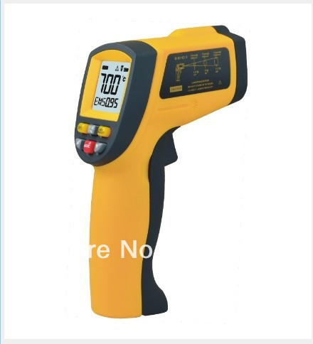 Free Shipping IR Thermometer GM 700 Temperature With Laser -50~700 Degree Hot Sale<br><br>Aliexpress