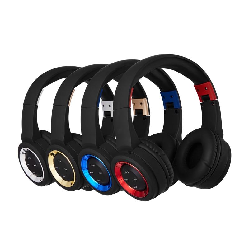 Ubit BT905 Wireless Bluetooth Headphones Support 32G TF Card  Wireless Headband Headsets With Radio Mic For PC MP3 Smartphone<br>