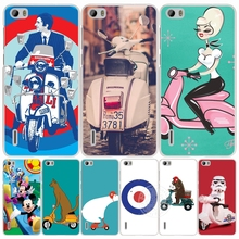 vespa scooter cell phone Cover Case for huawei honor 3C 4A 4X 4C 5X 6 7 8 Y6 Y5 2 II Y560