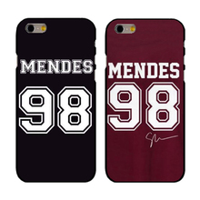 For Apple iPhone 4 4S 5  5c SE 6 6S Plus 4.7 7 7plus  Shawn Mendes 98 Design Cell Phone Case Cover Shell Coque
