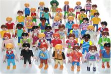 10Pcs Playmobil Germany Original Action Figures Western Farm Fun Park 2016 Playmob Game Child Toy Models Collections Kids L499