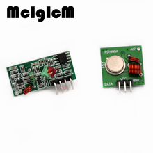 McIgIcM 1Lot= 5pairs (10pcs) 433Mhz RF transmitter and receiver Module link kit ARM/MCU WL diy 433mhz wireless Hot sale