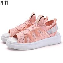 2017 Women's Shoes Summer Wedges Sandals Fashion Lady Tennis Open Toe Slimming Woman Casual Shoes Breathable Platform Sandalias