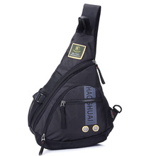 High Quality Waterproof Nylon Men Single Shoulder Cross Body Bag Military Travel Sling Rucksack Chest Back Pack Messenger Bags