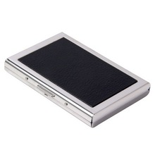 Metal Frame Waterproof Aluminum Business ID Credit Card Mini Wallet Holder Pocket Case Box Man Purse Worldwide sale(China)