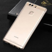 for Huawei P8 Lite case P9 Lite plus honor 8 6 Mate 9 8 7 3X 5X 6X Nova G8 P7 Y6 transparent TPU material