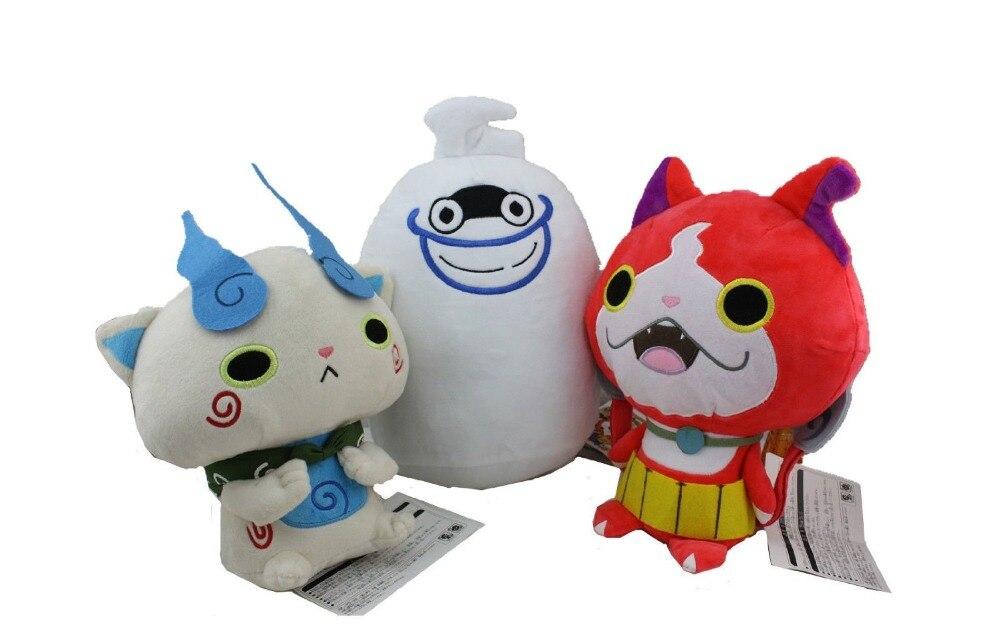 3x One Set New Yokai Watch Plush Toy Soft Doll For Xmas Gift<br><br>Aliexpress