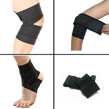 2017 Knee Pads Training Supports Prevent Knee Protector Sports Bandage Protect Elbow Knee Ankle Kneepad Injury Kneepad New May25