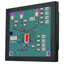 OEM Resisitive KWIPC-15-8 Industrial Touch Panel PC,15'' Dual i3 3.5G CPU, 2G RAM 32G Disk 1024 x 768 Resolution 1 Year Warranty(China)