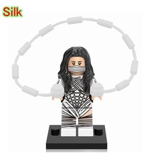 Silk Cindy Moon Mini Dolls Single Sale Super Heroes The Amazing Spider-Man Building Blocks Gifts Toys For Children XH678