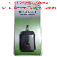 4 in 1 Controller Converter Adapter Cable for PS2 To for PC for PS3 for XINPUT for XBOX360 Game Accessories(China)