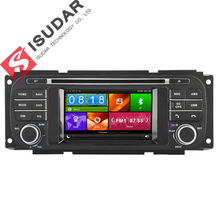 4.3 Inch Car DVD Player For Chrysler/Dodge/RAM/Jeep/Grand Cherokee With GPS Navigation BT Radio Maps(China)