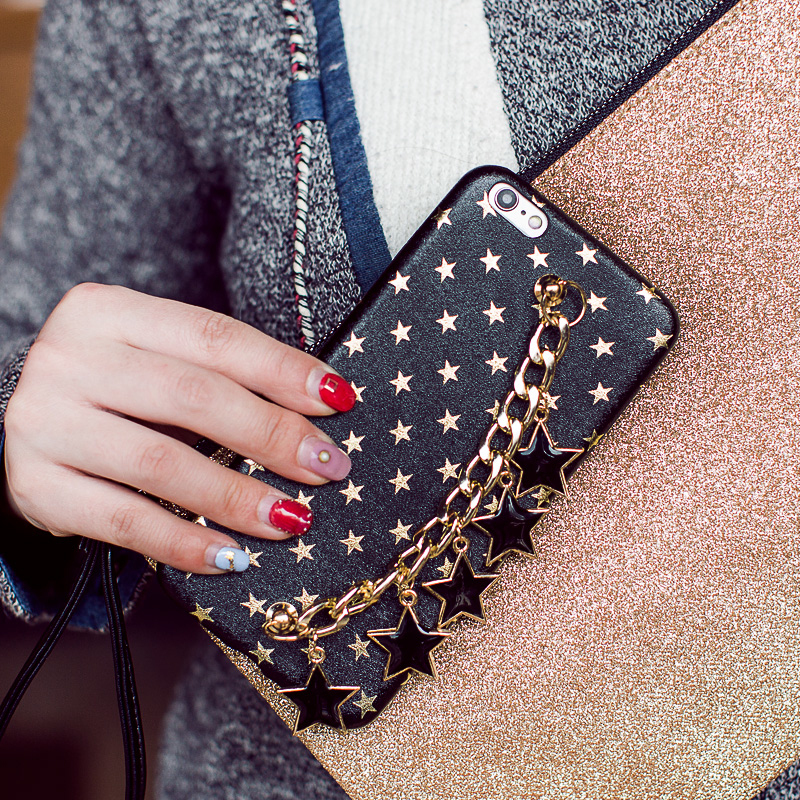 New-Luxury-Stars-Chain-Pendant-Tassel-Bracelet-Case-For-iPhone-7-7-8Plus-6-6S-Plus (1)