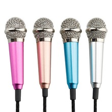 mini usb microphone K fans for computer smartphone pc capacitor noise Kara OK wired microphone