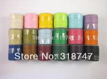 1mm Waxed thread cotton cord string strap DIY Carft 10y/roll,1roll/pack 013005006