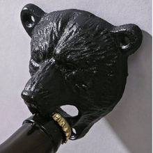 Bear Head Grizzly Beer Bottle Opener Cast iron Wall Mount Glass Bottle Opener Kitchen Tool Creative Gift