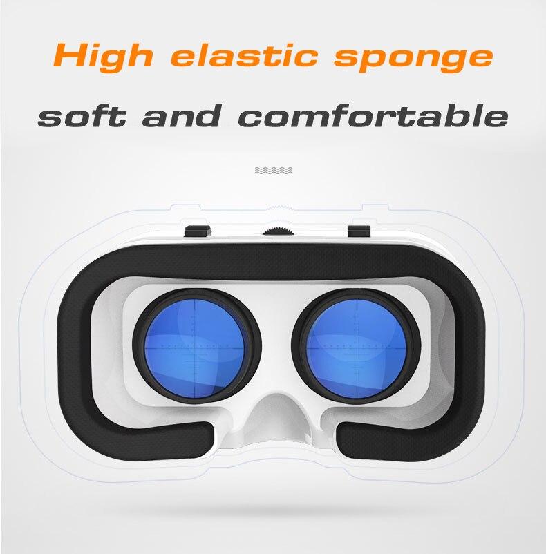 VR SHINECON 5.0 Glasses Virtual Reality VR Box 3D Glasses For 4.7 – 6.0 inch Phone