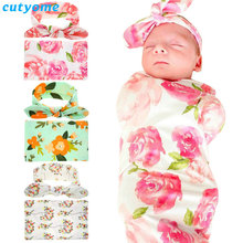 Buy Newborn Baby Boys Girls Clothing 2pcs/set Headband+Swaddle Blanket Wrap Towel Photo Prop New Toddler Infant Flowers Photography for $11.01 in AliExpress store
