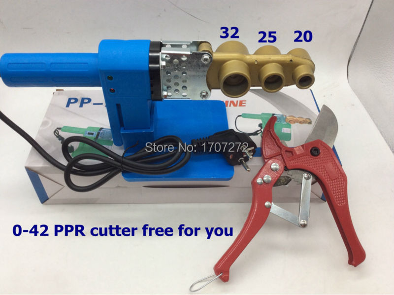 Free Shipping constant temperature electronic PPR Pipe Welding Machine 220V 600W 20-32mm welding machine to weld plastic pipe<br>