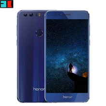 "Original Huawei Honor 8 4G FDD LTE 3GB/4GB RAM 32GB/64GB ROM Mobile Phone Octa Core Android 6.0 5.2"" 1920*1080 Fingerprint NFC"