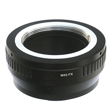 Top Deals M42 42mm Screw Mount Lens to Fujifilm X-Mount Camera X-Pro1 X-Pro2 X-E1 X-E2 X-E2S X-M1 X-A1 X-A2 X-A3 X-A10 X-M1 X-