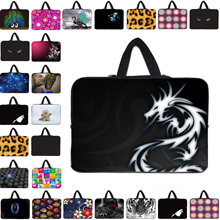 Many designs neoprene 17 17.3 15 15.4 13 14 14.1 13.3 11.6 12 12.1 10 10.1 7 7.9 tablet netbook laptop notebook sleeve bag cases(China)