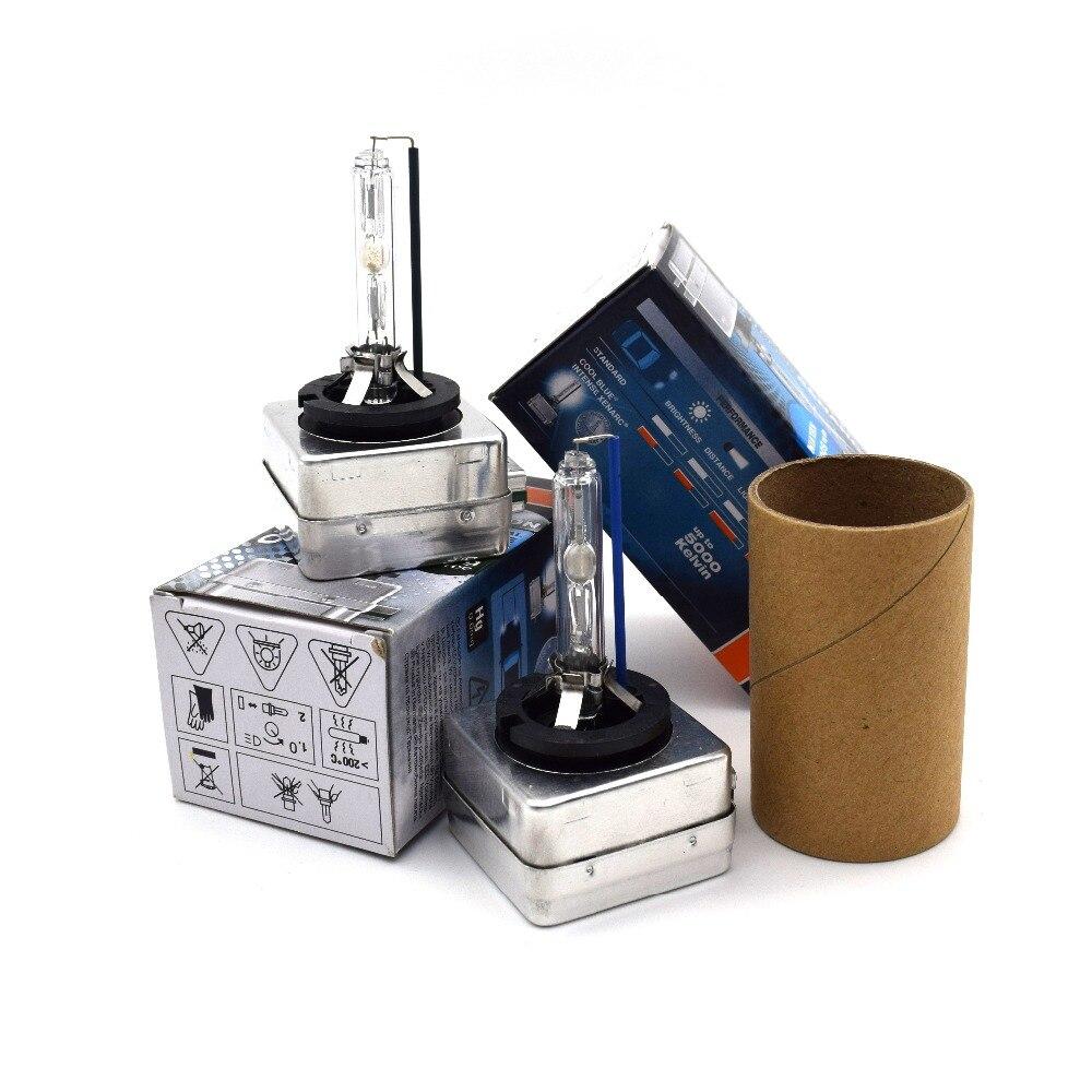 2pcs D1s d2s d3s d4s d2r d4r HID Xenon Bulb Headlight  4300K 5000k 5500K 35W 12V Standard blue packaging<br><br>Aliexpress