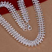 Hot Sell New Fashion Fish Bone Pendant Necklace Chain Clavicle For Women Free Shipping Wholesale SMTN166(China)
