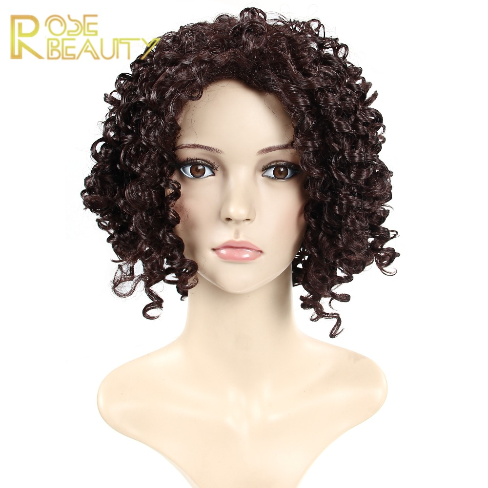 Deep curly Afro Wigs Hair Long Curly wave Black Hair Wig African American Wig For Black Women Cheap Synthetic women wigs<br><br>Aliexpress