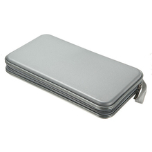 Hot Selling New 80 Disc CD DVD Carry Case Wallet Storage Holder Bag Hard Box - Silver