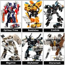 2017 Kids Transformation Classic Action figure Toys Robot Cars For Children Price for 1pcs(China)