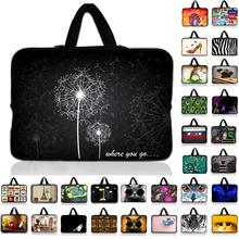 "Dandelion Print Laptop Sleeve Tablet Bag Notebook Case For 7 10.1 12 13.3 14"" 15.4 15.6 17 inch Computer For Asus HP Acer Lenovo(China)"