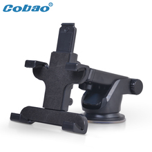 Cobao car styling 360 car gps phone holder stand for iPhone Samsung auto cradle sucker dashboard mobile phone accessories cellphone smartphone desk holder support car bracket(China)