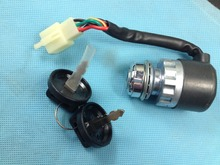Ignition Switch Key Switch for UTV Go Kart ATV 5 Pin Wire Chinese 50 150 250CC S