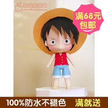 One Piece Q version of the original cartoon floo 3d paper model DIY handmade limited edition spike