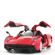 Hot Child Toys Simulation Alloy 1:32 Pagani Die Cast Car Model Simulation Acoustic Lighting Back To Power Christmas present x50
