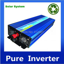 1500W ren sinuskurve inverter  free shipping 1500W Pure Sine Wave Inverter 3000w peak 12V to 220v For Wind and solar energy